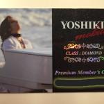 YOSHIKI Mobile 会員カードが届きました